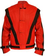 Michael Jackson MJ Thriller Leather Jacket