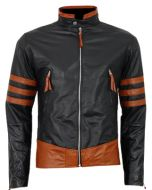 X-MEN Wolverine Origins Leather Jacket