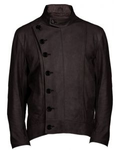 Nubuck Leather Jacket For Men