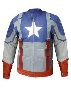 The First Avenger Leather Jacket