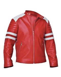 Movie Fight Club Leather Jacket