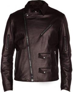 men brown jacket front