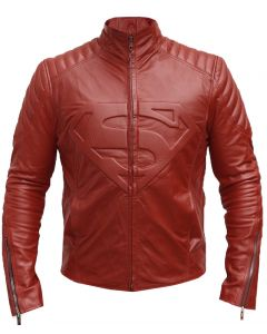 Smallville Season 10 Superman Jacket