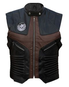 Hawkeye leather vest